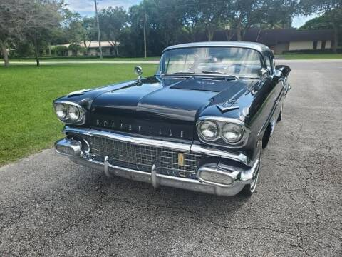1958 Pontiac Bonneville for sale at COOL CARS in Pompano Beach FL