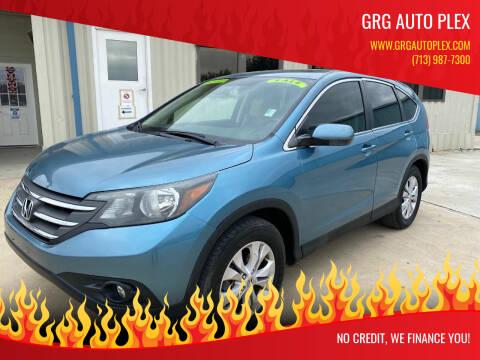 2013 Honda CR-V for sale at GRG Auto Plex in Houston TX