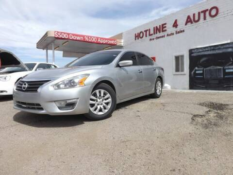 2015 Nissan Altima for sale at Hotline 4 Auto in Tucson AZ