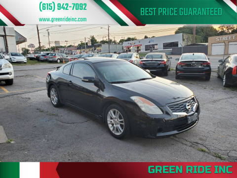 2008 Nissan Altima for sale at Green Ride Inc in Nashville TN