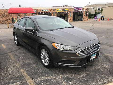 2017 Ford Fusion for sale at Carney Auto Sales in Austin MN