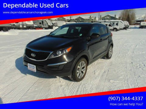 2016 Kia Sportage for sale at Dependable Used Cars in Anchorage AK