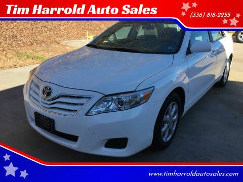 2010 Toyota Camry for sale at Tim Harrold Auto Sales in Wilkesboro NC