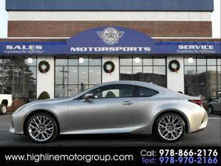 2019 Lexus RC 300 for sale at Highline Group Motorsports in Lowell MA