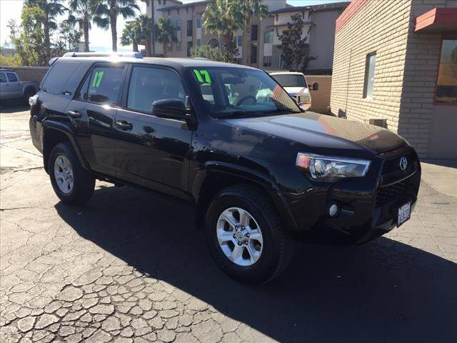 2017 Toyota 4Runner for sale at Corona Auto Wholesale in Corona CA