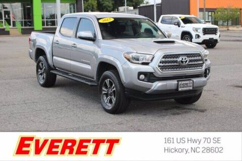 2017 Toyota Tacoma for sale at Everett Chevrolet Buick GMC in Hickory NC