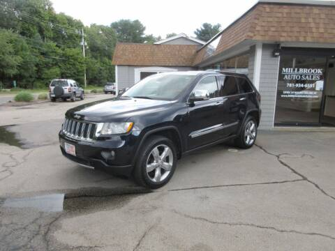 2011 Jeep Grand Cherokee for sale at Millbrook Auto Sales in Duxbury MA