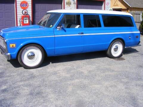 1972 Chevrolet Suburban for sale at Classic Car Deals in Cadillac MI