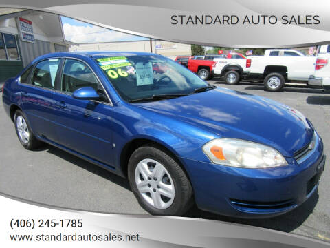 2006 Chevrolet Impala for sale at Standard Auto Sales in Billings MT