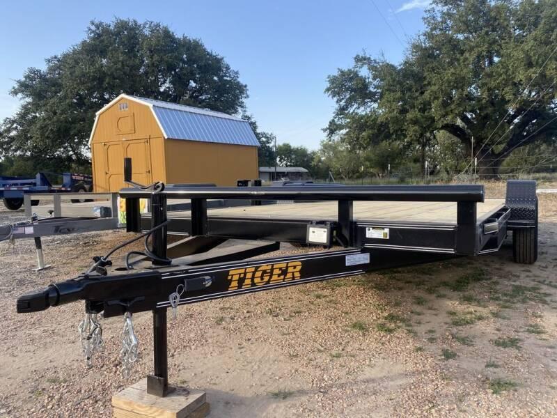 "2021 TIGER - 83"" X 18' - Car Hauler  for sale at LJD Sales in Lampasas TX"