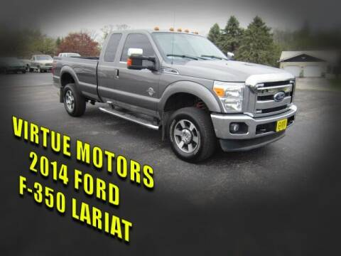 2014 Ford F-350 Super Duty for sale at Virtue Motors in Darlington WI