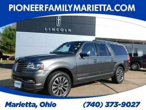 2016 Lincoln Navigator L for sale at Pioneer Family auto in Marietta OH