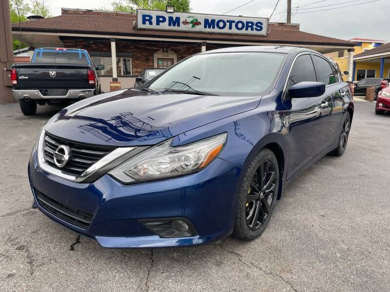 2017 Nissan Altima for sale at RPM Motors in Nashville TN