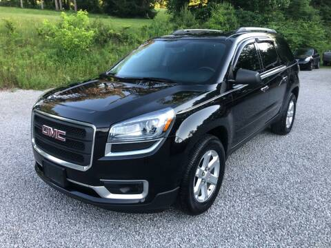 2014 GMC Acadia for sale at R.A. Auto Sales in East Liverpool OH