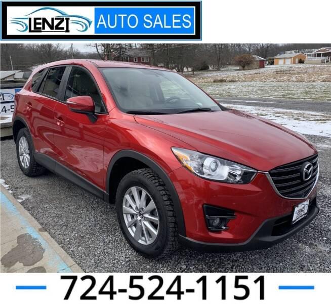 2016 Mazda CX-5 for sale at LENZI AUTO SALES in Sarver PA