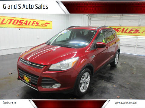 2016 Ford Escape for sale at G and S Auto Sales in Ardmore TN