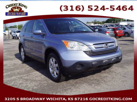 2007 Honda CR-V for sale at Credit King Auto Sales in Wichita KS