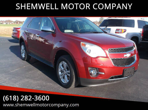 2011 Chevrolet Equinox for sale at SHEMWELL MOTOR COMPANY in Red Bud IL