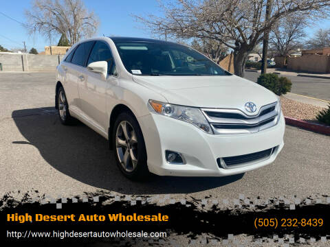 2014 Toyota Venza for sale at High Desert Auto Wholesale in Albuquerque NM