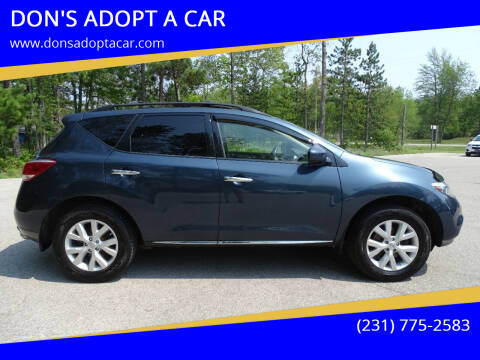 2014 Nissan Murano for sale at DON'S ADOPT A CAR in Cadillac MI