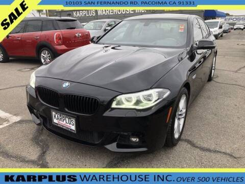 2014 BMW 5 Series for sale at Karplus Warehouse in Pacoima CA