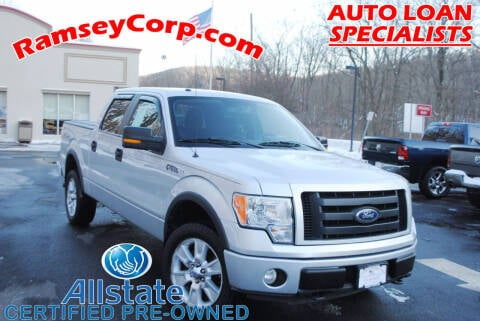 2010 Ford F-150 for sale at Ramsey Corp. in West Milford NJ