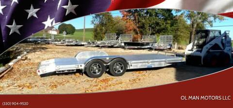 2017 RC Trailer 8.5 x 20 Aluminum Trailer for sale at Ol Man Motors LLC in Louisville OH