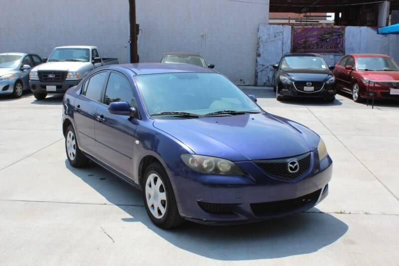 2006 Mazda MAZDA3 for sale at Car 1234 inc in El Cajon CA