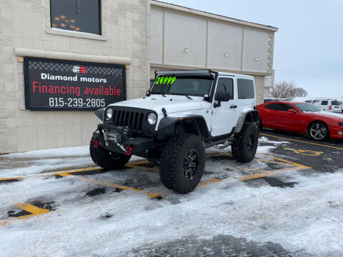 2012 Jeep Wrangler for sale at Diamond Motors in Pecatonica IL