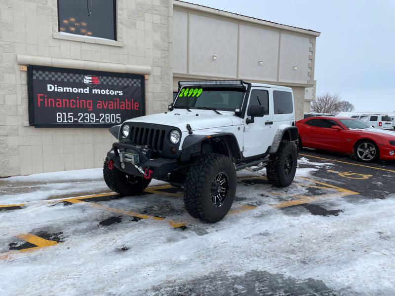 2012 Jeep Wrangler for sale at Diamond Motors in Pecatonica IL