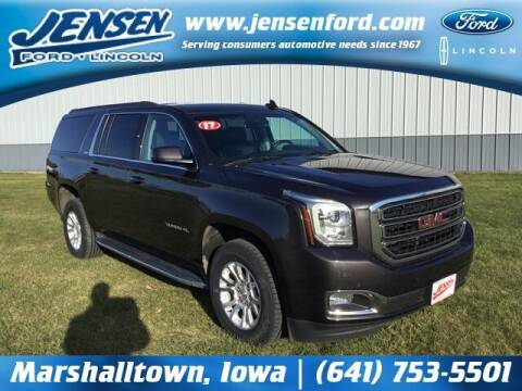 2017 GMC Yukon XL for sale at JENSEN FORD LINCOLN MERCURY in Marshalltown IA