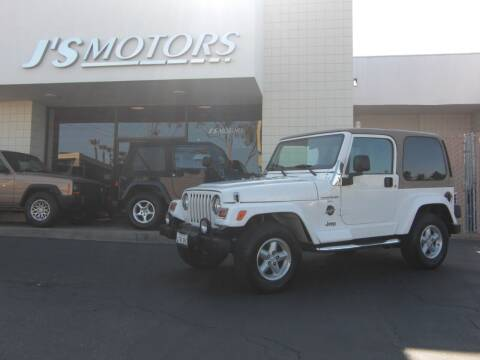 1999 Jeep Wrangler for sale at J'S MOTORS in San Diego CA