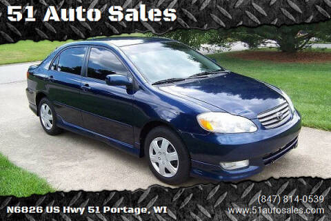 2005 Toyota Corolla for sale at 51 Auto Sales in Portage WI