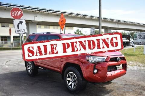 2018 Toyota 4Runner for sale at STS Automotive - Miami, FL in Miami FL