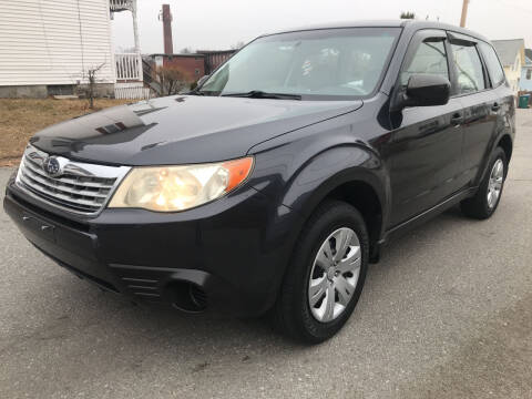 2010 Subaru Forester for sale at D'Ambroise Auto Sales in Lowell MA