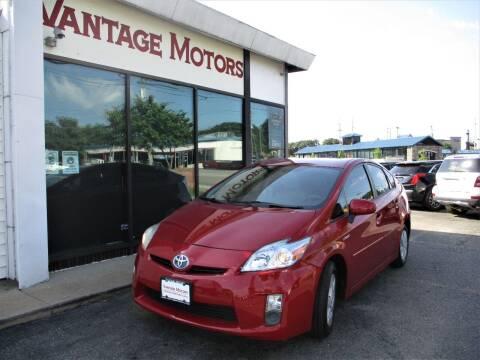 2010 Toyota Prius for sale at Vantage Motors LLC in Raytown MO