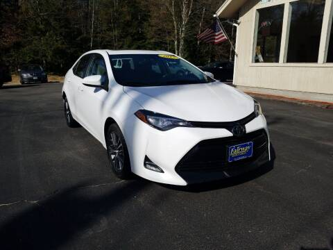 2017 Toyota Corolla for sale at Fairway Auto Sales in Rochester NH