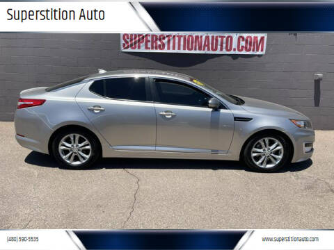 2012 Kia Optima Hybrid for sale at Superstition Auto in Mesa AZ