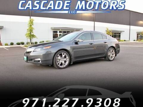 2012 Acura TL for sale at Cascade Motors in Portland OR