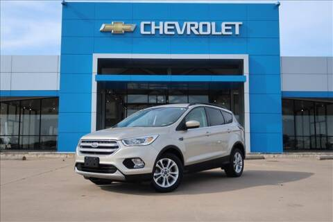 2017 Ford Escape for sale at Lipscomb Auto Center in Bowie TX