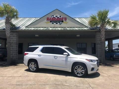 2018 Chevrolet Traverse for sale at Rabeaux's Auto Sales in Lafayette LA