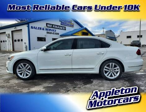 2017 Volkswagen Passat for sale at Appleton Motorcars Sales & Service in Appleton WI