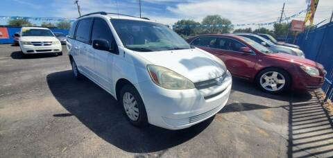 2005 Toyota Sienna for sale at Juniors Auto Sales in Tucson AZ