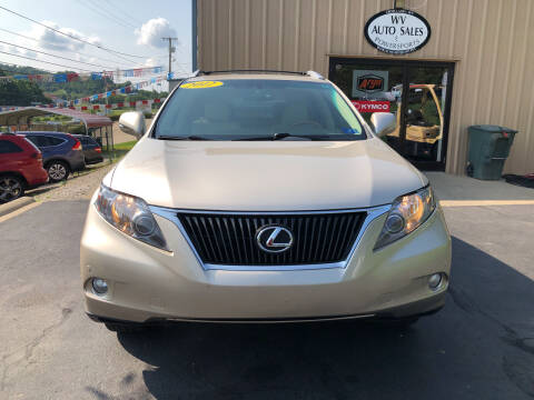 2012 Lexus RX 350 for sale at W V Auto & Powersports Sales in Charleston WV