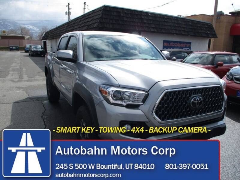 2019 Toyota Tacoma for sale at Autobahn Motors Corp in Bountiful UT