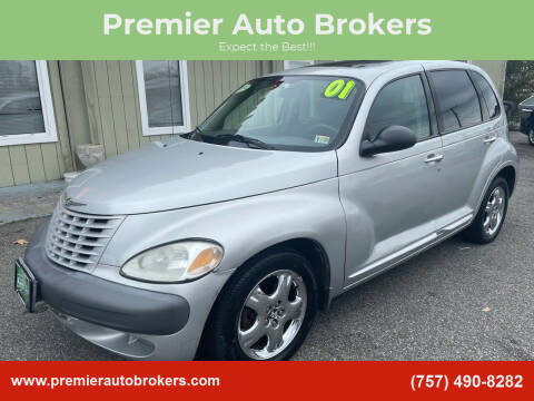 2001 Chrysler PT Cruiser for sale at Premier Auto Brokers in Virginia Beach VA