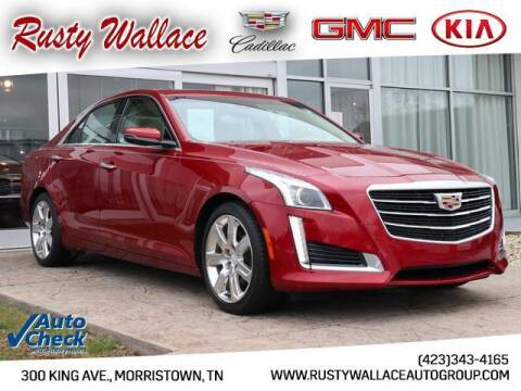 2016 Cadillac CTS for sale at RUSTY WALLACE CADILLAC GMC KIA in Morristown TN