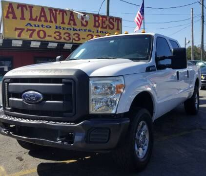 2015 Ford F-250 Super Duty for sale at Atlanta's Best Auto Brokers in Marietta GA
