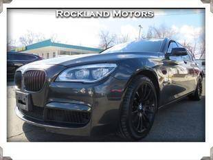 2015 BMW 7 Series for sale at Rockland Automall - Rockland Motors in West Nyack NY