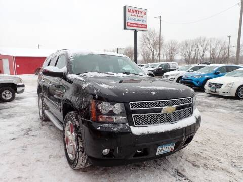 2011 Chevrolet Tahoe for sale at Marty's Auto Sales in Savage MN